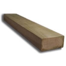 "4 x 3"" (100 x 75mm) Sawn Timber Posts"